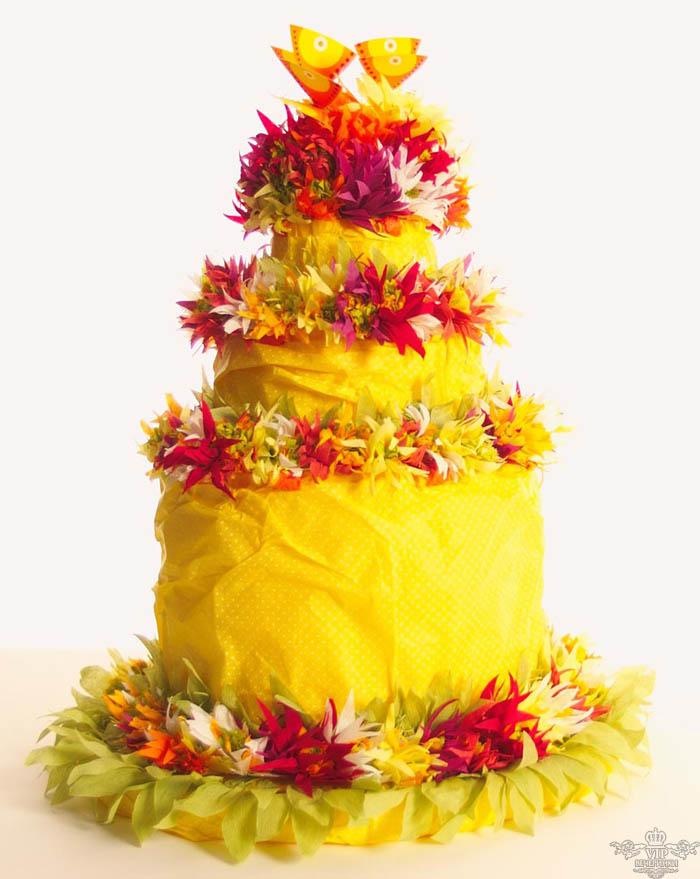 Свадебный торт в стиле хиппи это