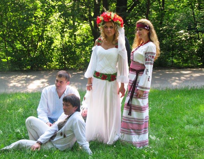 Выкуп невесты один из самых веселых и